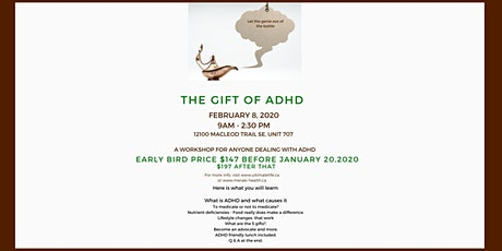 The Gift of ADHD - Letting the Genie out of the Bottle tickets