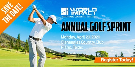 2020 World Impact Charity Golf Tournament tickets