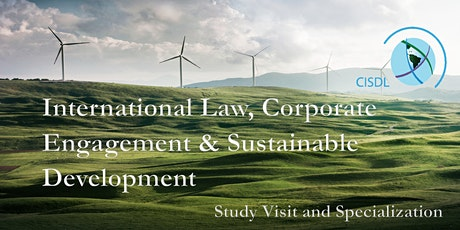 International Law, Corporate Engagement & Sustainable Development tickets