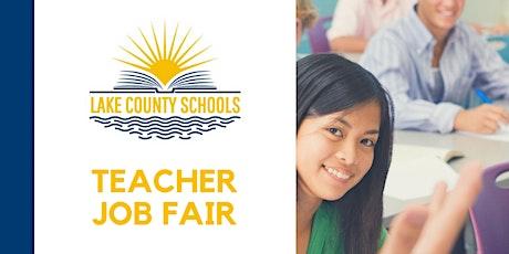 Lake County Schools 2020 Teacher Job Fair  tickets