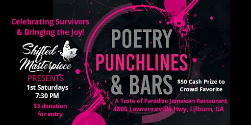 POETRY, PUNCHLINES, and BARS - Open Mic - Cash Prize - Audience Chooses Winner