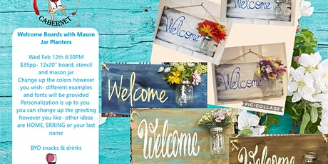 Welcome Boards tickets