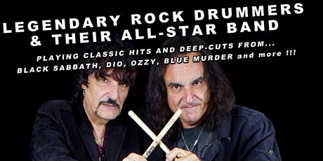 Carmine and Vinny Appice : Drum Wars Brunch tickets