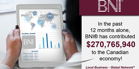 Business Networking by BNI Novascotia - BNI Bedford Business Builders tickets