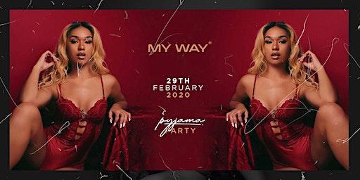 My Way Pyjama Party
