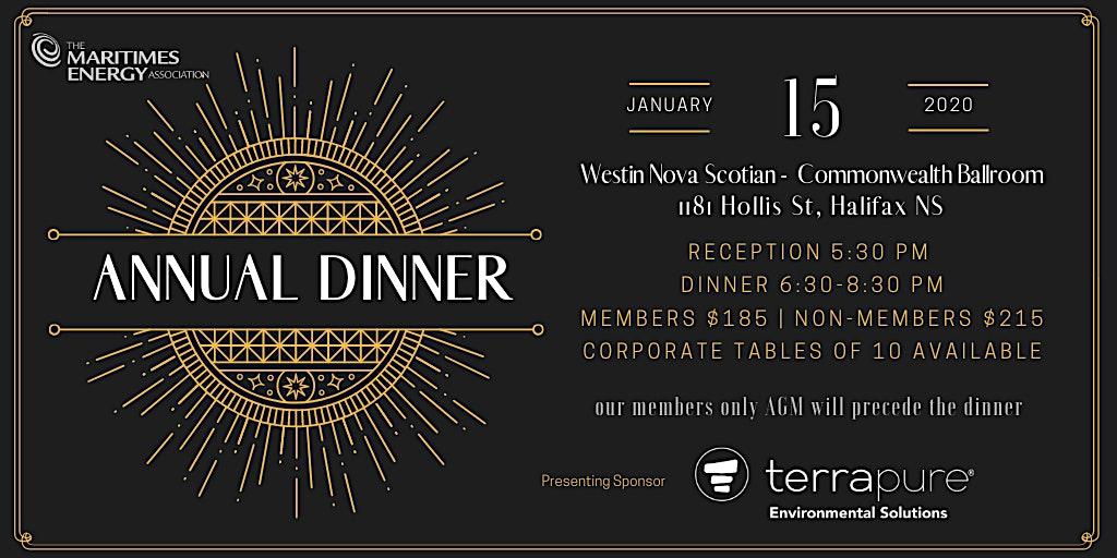 The Maritimes Energy Association Annual Dinner