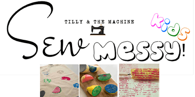 Sew Messy - Childen's Fabric Printing with Natural Objects