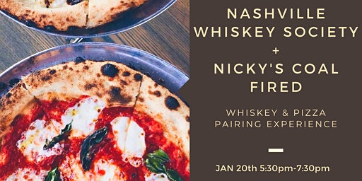 Nicky's Coal Fired Pizza and Whiskey Pairing