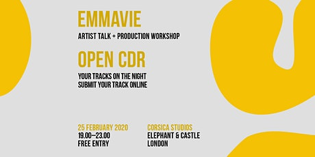 CDR London with Emmavie tickets