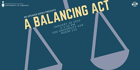RSI Speaker Series Presents: A Balancing Act - Clinical & Research Work tickets