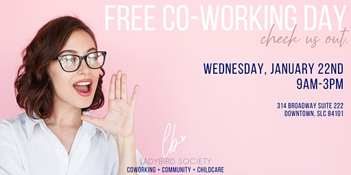 Free Co-Working Day!