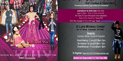 """2nd Annual """"Summer Fun"""" Kids Fashion and Talent Show"""