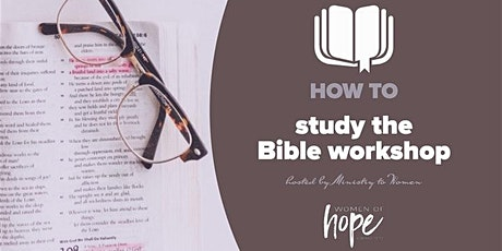 How to Study the Bible Workshop tickets