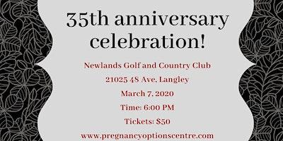 Pregnancy Options 35th Anniversary Dinner