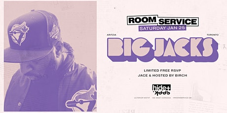 Room Service - Jan 25 w/ Big Jacks tickets