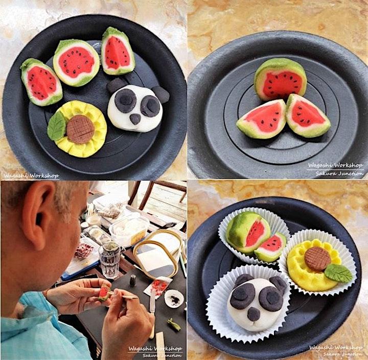 Japanese Sweet Making Workshop image