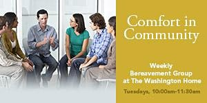 The Washington Home's Weekly Bereavement Group - DC