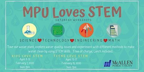 MPU Teens Love STEM Workshop tickets