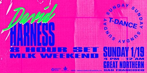 David Harness 8 Hour Set - MLK Sunday - T Dance