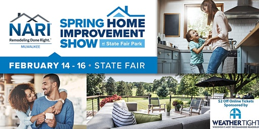 NARI Milwaukee Spring Home Improvement Show