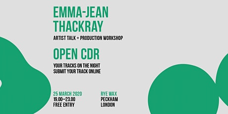 Postponed: CDR London with Emma-Jean Thackray tickets