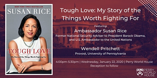 Susan Rice on Tough Love: My Story of the Things Worth Fighting For