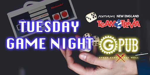 Tuesday Game Night feat. New England Team Trivia