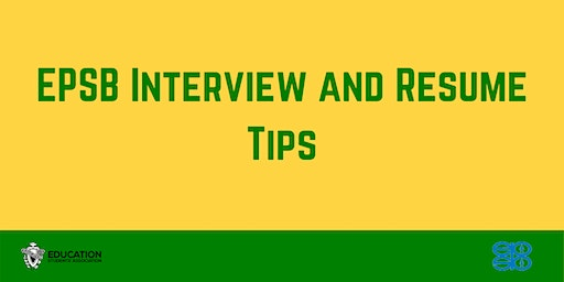 ED WEEK EPSB Interview and Resume Tips