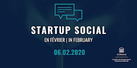 Startup Social: en février | in February tickets