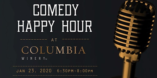 Club Comedy Happy Hour at Columbia Winery