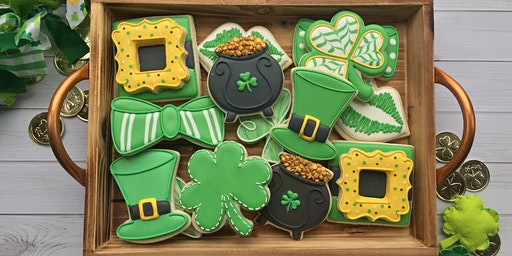 St. Patrick's Day Beginner Cookie Class - Spring Hill