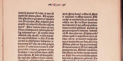 Dr. Erik Kwakkel: The Gutenberg Bible: innovation or imitation?