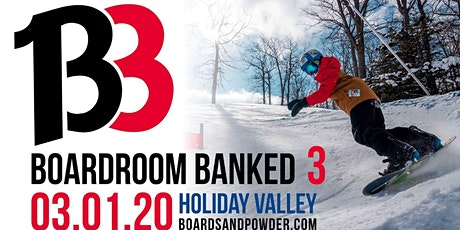The 3rd Annual Boardroom Banked tickets