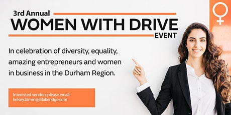 3rd Annual Women With Drive Event tickets
