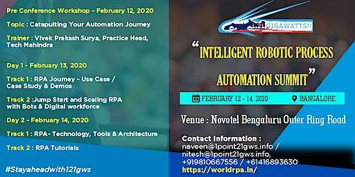 WORLD INTELLIGENT ROBOTIC PROCESS AUTOMATION SUMMIT