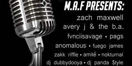M.A.F. - Music Art Feel presents Denver's Emerging Artist Showcase tickets