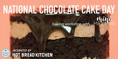National Chocolate Cake Day Baking Workshop tickets