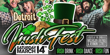 The Detroit Irish Fest tickets