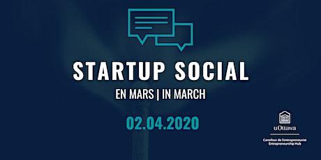 Startup Social: en avril | in April billets