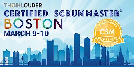 Boston Certified ScrumMaster® Workshop (CSM) - Mar 9-10 tickets