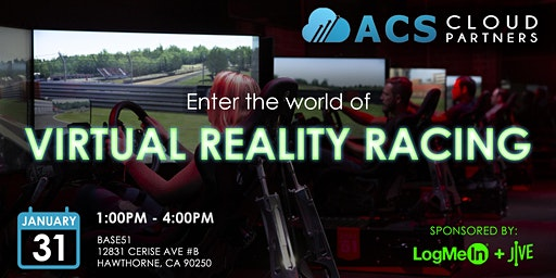 ACS Virtual Reality Racing Event for Telecom Agents