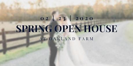 2020 Oakland Farm Open House tickets
