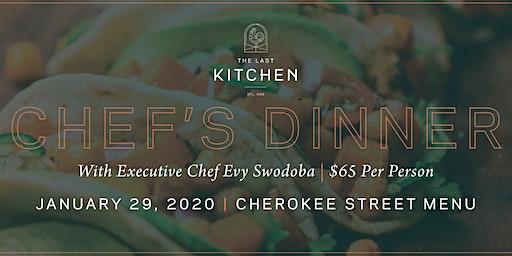 Chef's Dinner Neighborhood Series: Cherokee Street with Patron Tequila