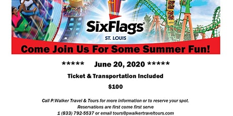 Six Flags - St. Louis June 20, 2020 tickets