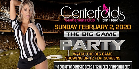 Championship Sunday at Centerfold's Gentlemen's Club of Hilton Head tickets