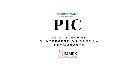 Conférence de presse: lancement des activités du Programme d'intervention dans la communauté du Centre Lemaire, en partenariat avec IMMEX, Société immobilière billets