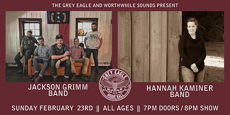 Jackson Grimm Band + Hannah Kaminer Band tickets