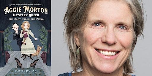 Marthe Jocelyn's Aggie Morton, Mystery Queen - Toronto Book Launch