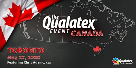 The Qualatex Event Canada - Toronto tickets