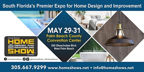 Palm Beach Home Design And Remodeling Show tickets